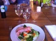 Från middagen på Talldungen. Mmmm!!!!