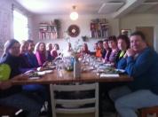 Bild från lunchen. Hela klassen!