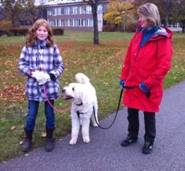 Linnea, Charlie och jag =)