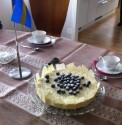 Fantastiskt snygg och god tårta =)