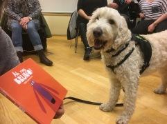 Läshunden Charlie och boken om Bruno.