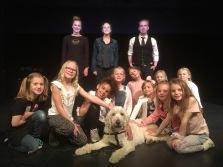 """Annisar, barnhemsbarn med flera 😊 Första träffen med """"nya"""" Annie- familjen i Halmstad."""