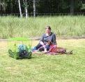 Smidiga Dana med matte pausar i Freestyleträningen