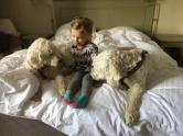 Tre goa vänner, glada att se varandra <3