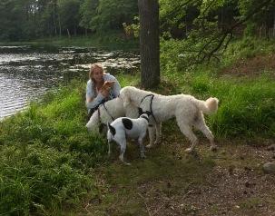 Anna och hundarna