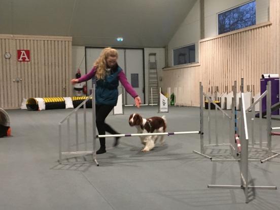 Anna och Ozze in action