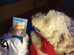 Här har Charlie lyssnat på en berättelse som utspelar sig i Chile.